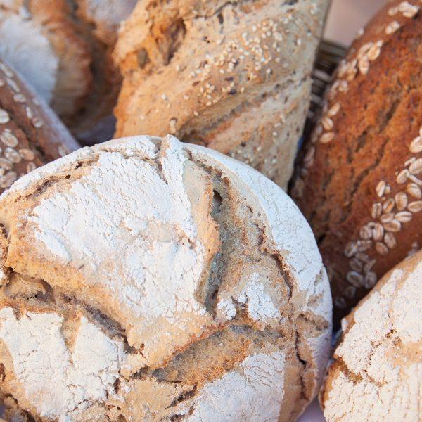 Pane con farina di grani antichi