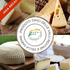Box prodotti tipici formaggi
