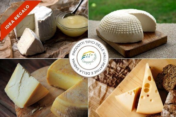 cesto degustazione formaggi