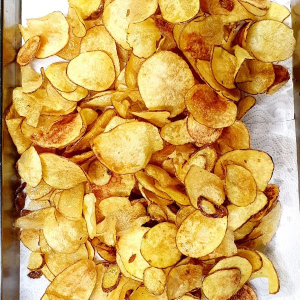 chips fatte a mano