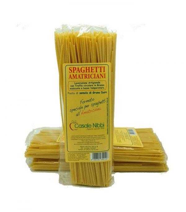 Spaghetti amatriciani